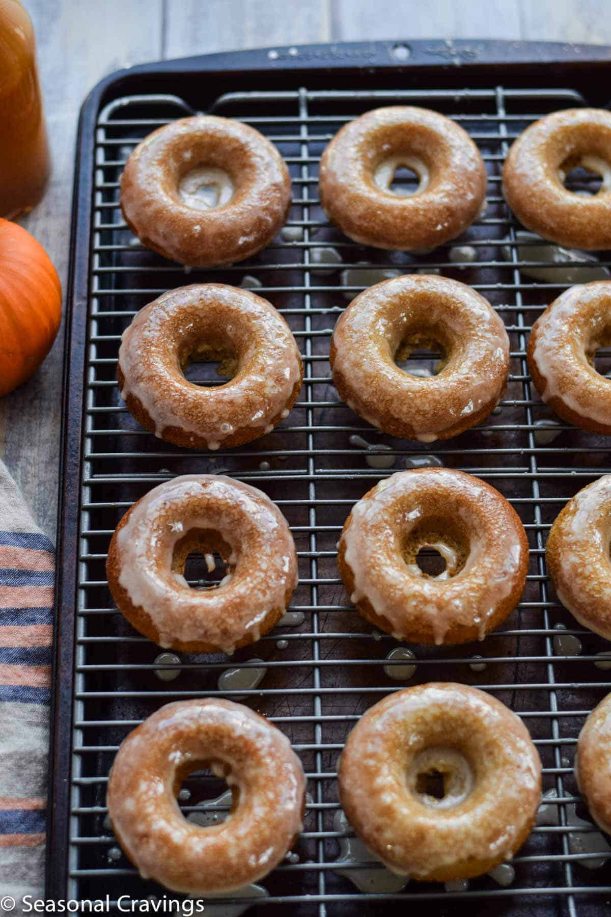 Gluten Free Apple Cider Doughnuts for a sweet, gluten free treat