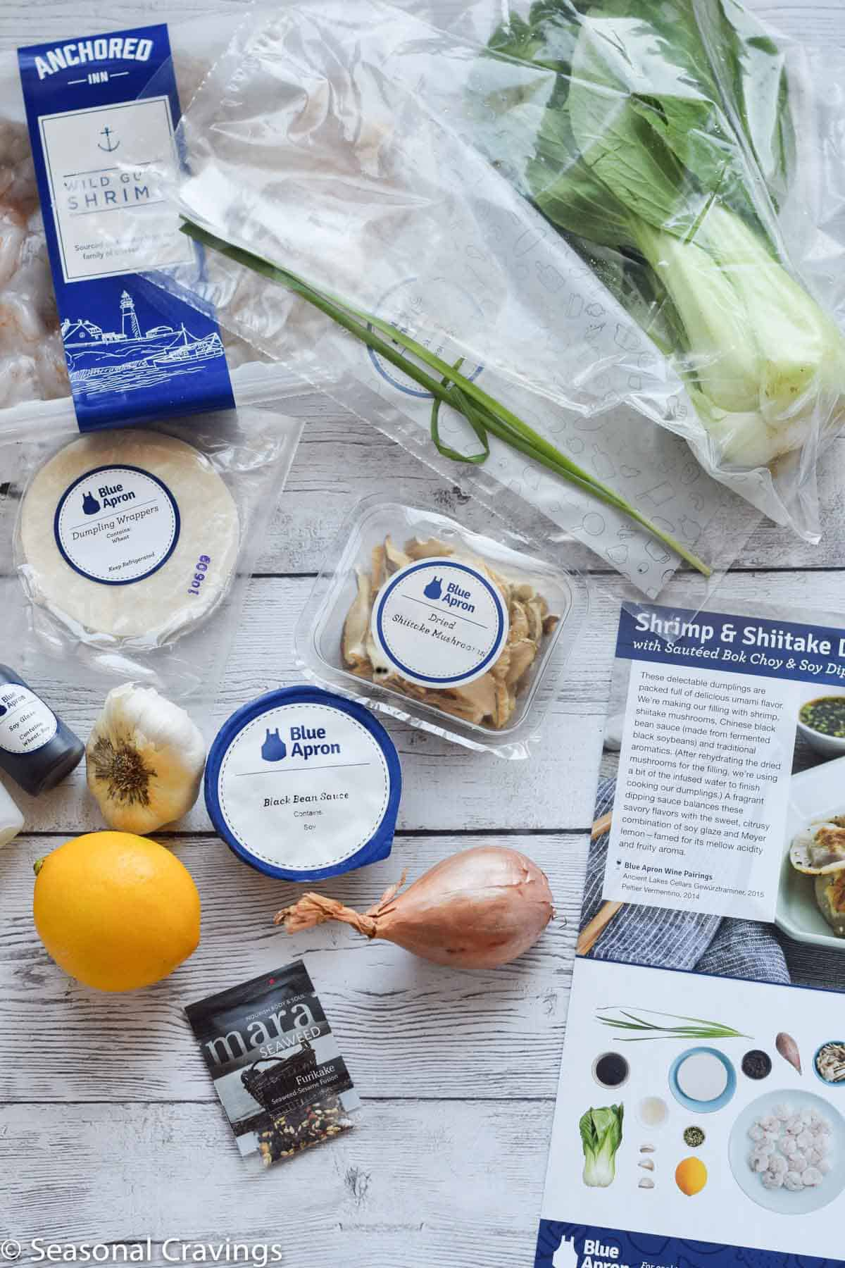 Blue Apron - a review - fresh food delivered to your door