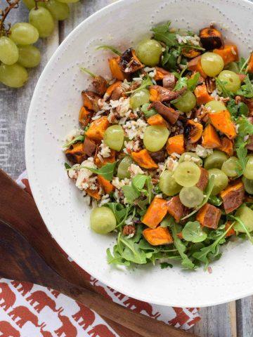 Fall Wild Rice Salad