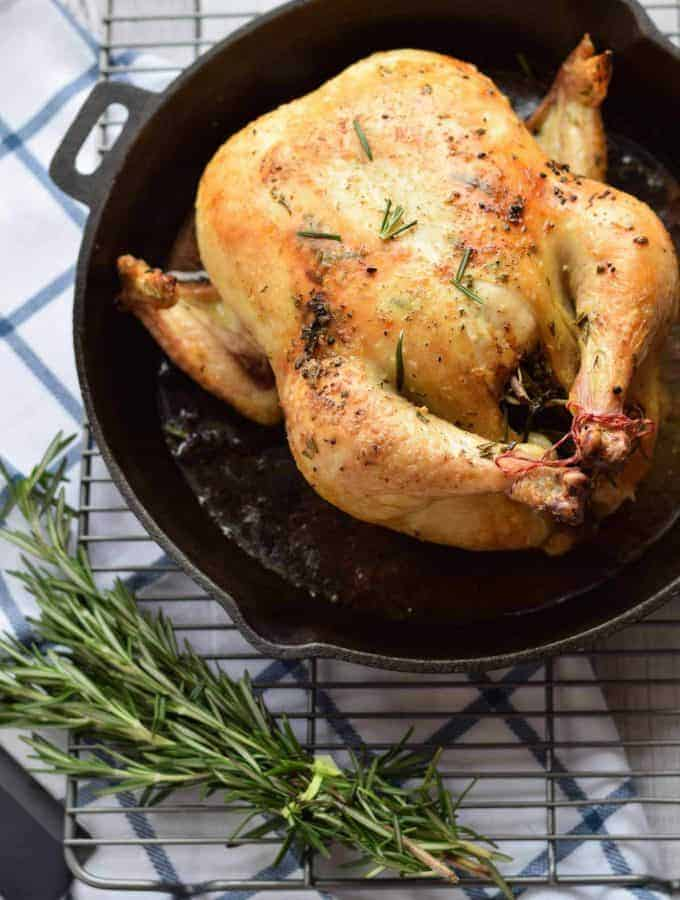 Roasted Rosemary Lemon Chicken