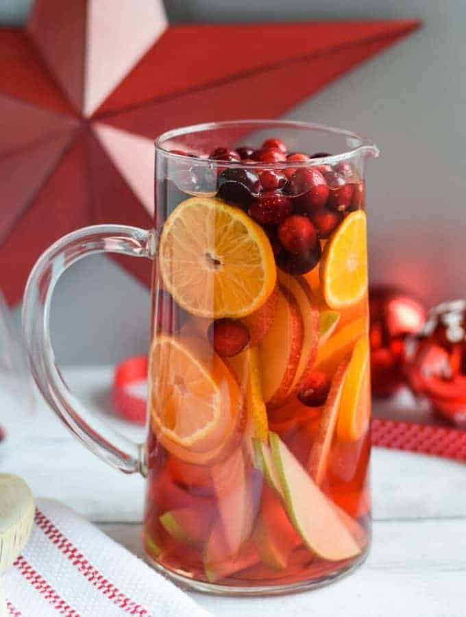 Five Ingredient White Sangria
