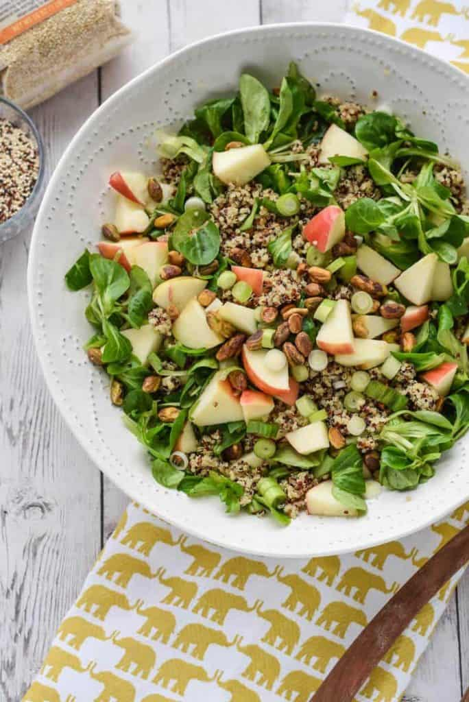 how long to cook quinoa Detox Quinoa Salad with Turmeric Tahini Dressing