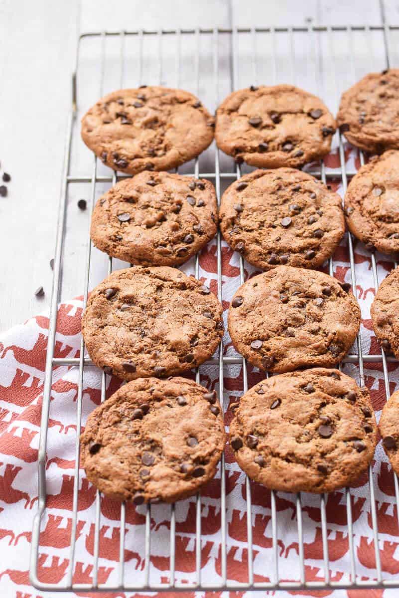 Paleo Almond Chocolate Chip Cookies