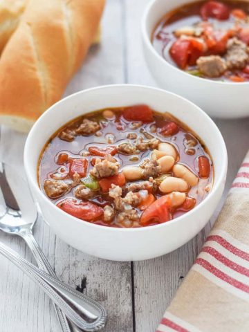 Sausage and Bean Soup
