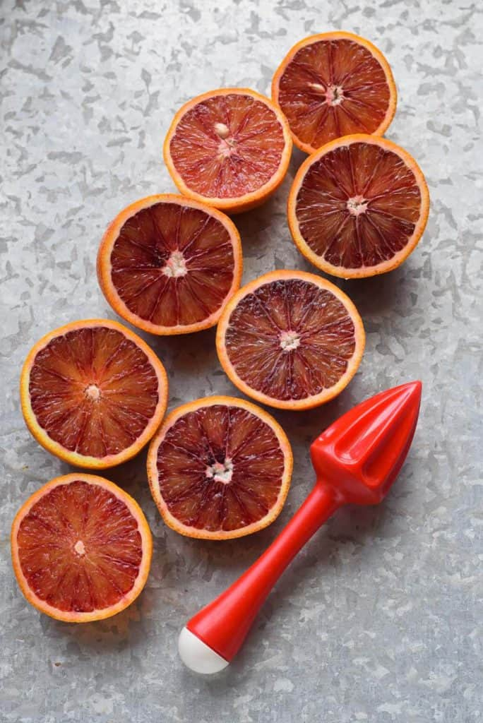 Blood Orange Crush oranges