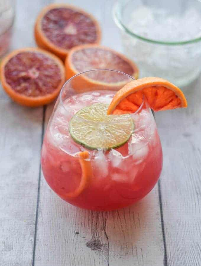 Skinny Blood Orange Crush