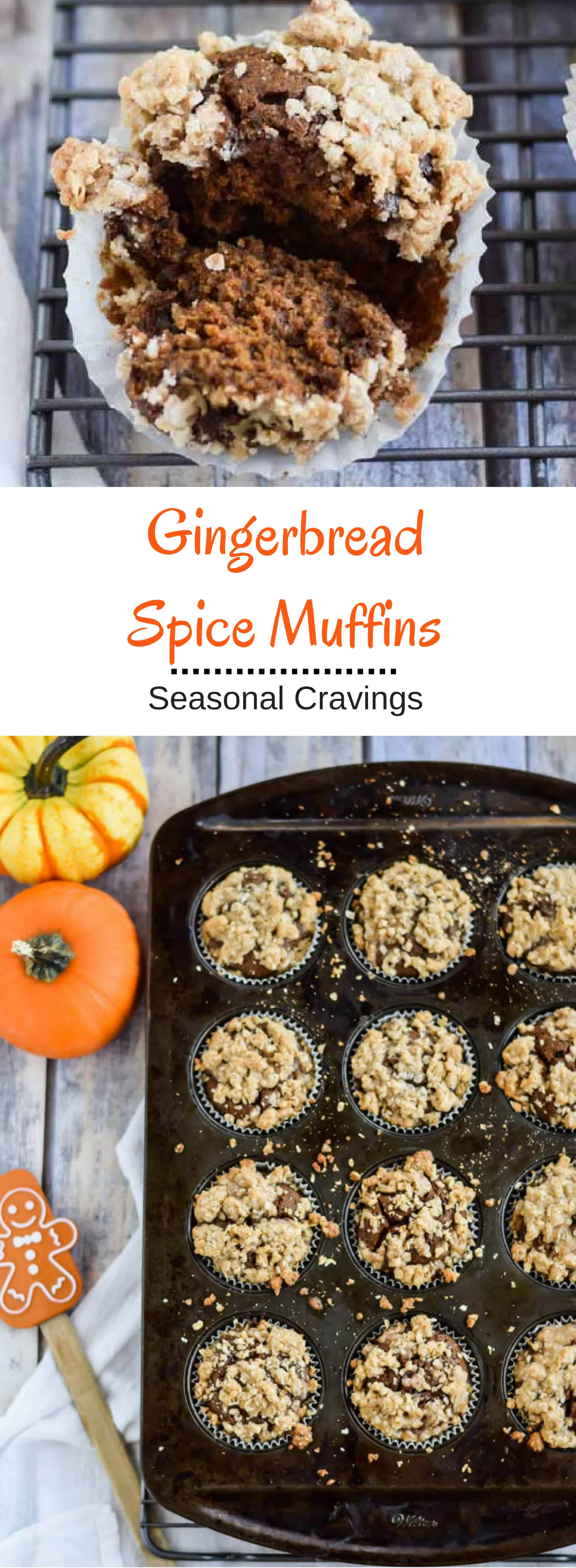 Gingerbread Spice Muffins