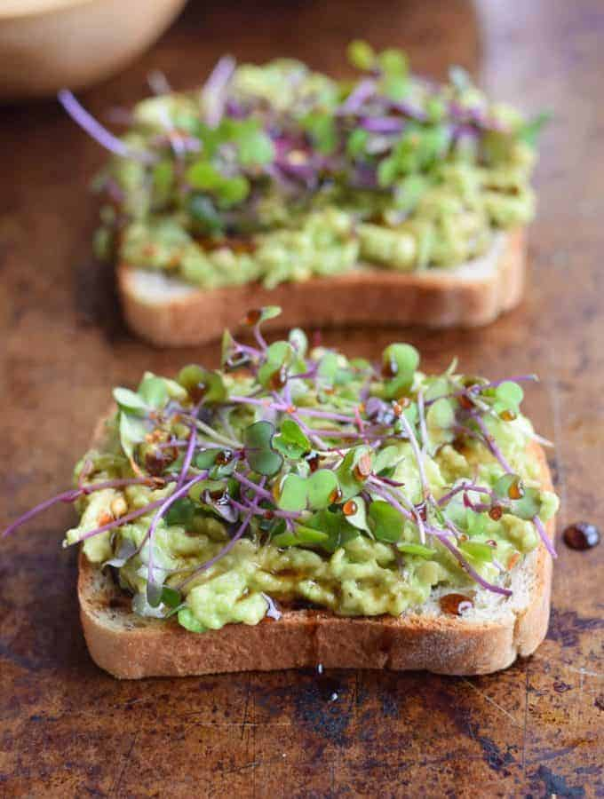 Avocado Toast with Microgreens
