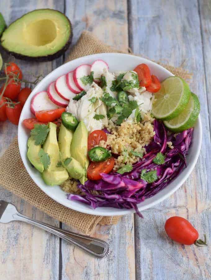 Fish Taco Grain Bowl