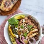 Meal Prep Grilled Chicken Grain Bowls