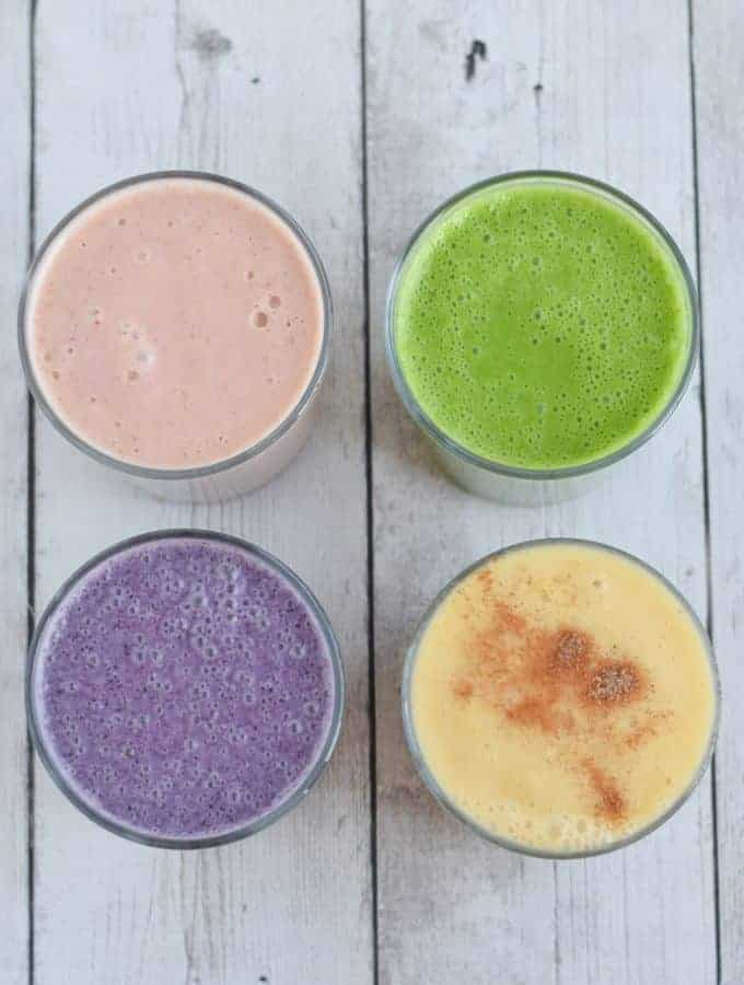 Four Ways to Make Cauliflower Smoothies