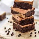 Paleo Brownies with Almond Butter Icing