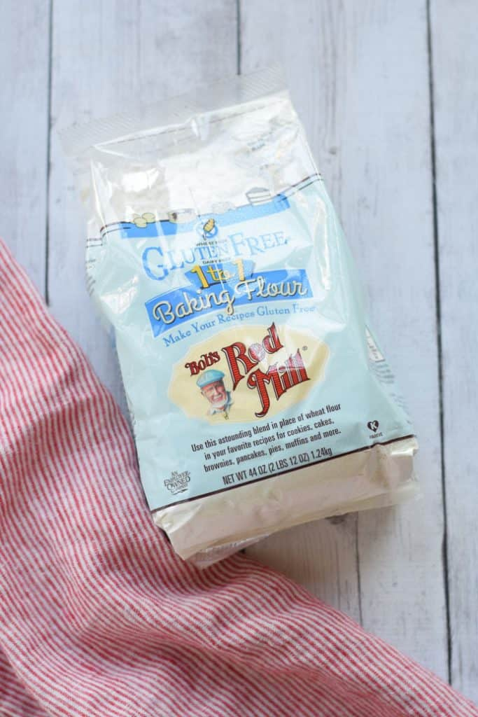 Bag of gluten free flour