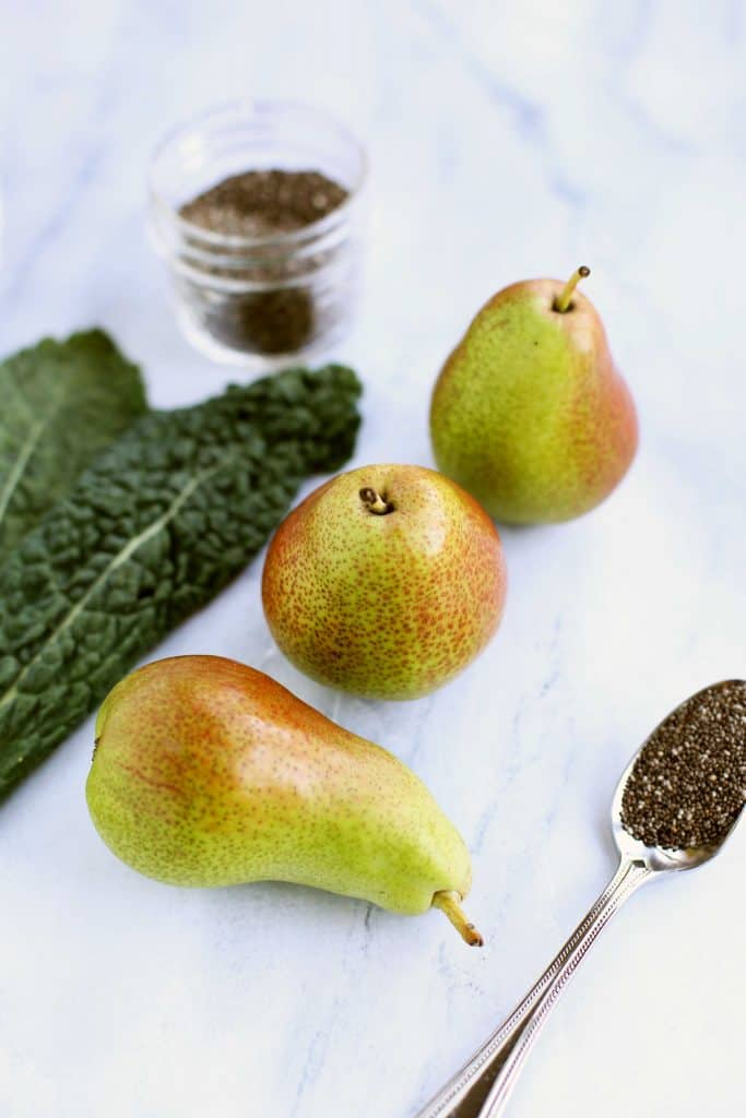 pear kale smoothie recipe