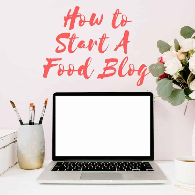 Blogging Resources - how to start a food blog laptop