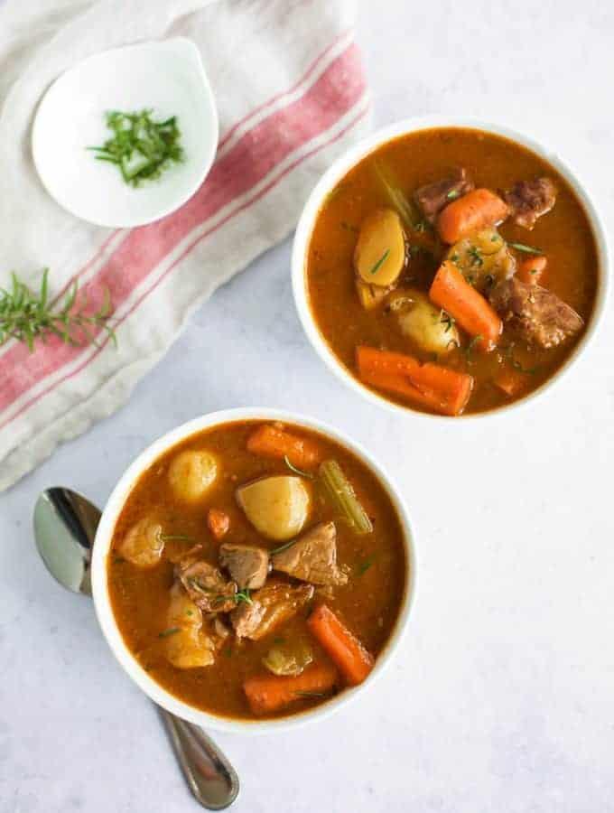 Gluten Free Instant Pot Beef Stew
