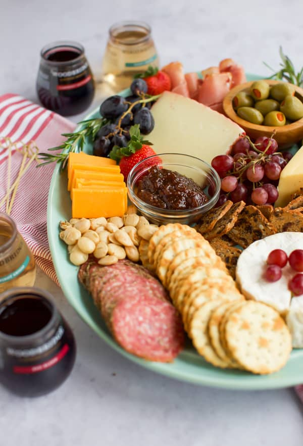 cheese platter ideas close up