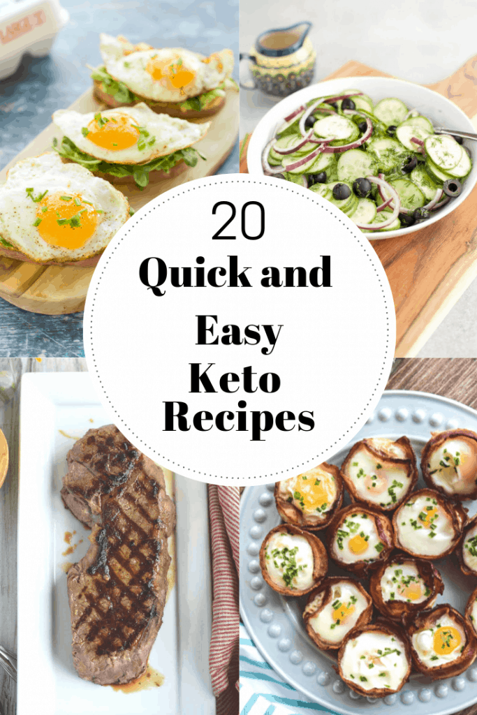 20 quick and easy keto recipes