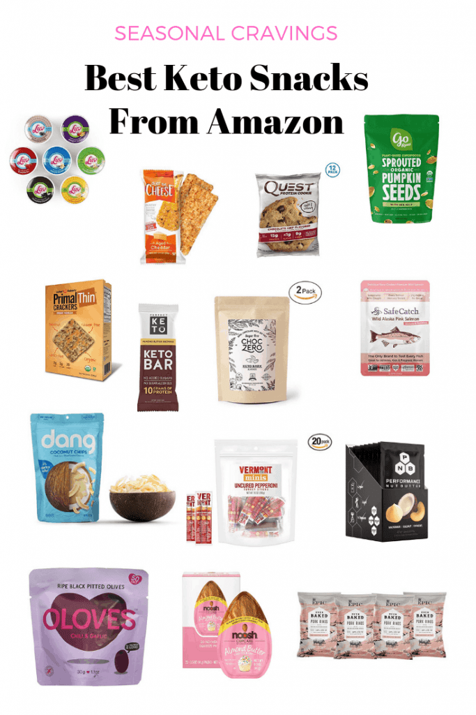 best keto snacks to buy from amazon