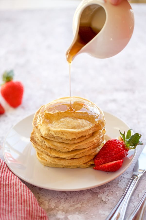 bob's red mill gluten free pancakes with syrup