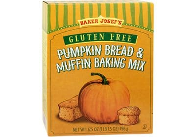 gluten free pumpkin bread mix