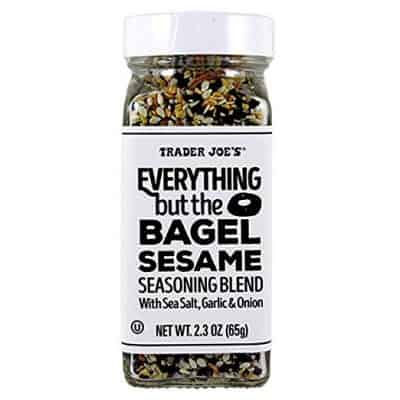 everything bagel seasoning trader joes