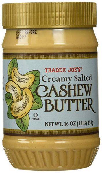 cashew butter trader joes