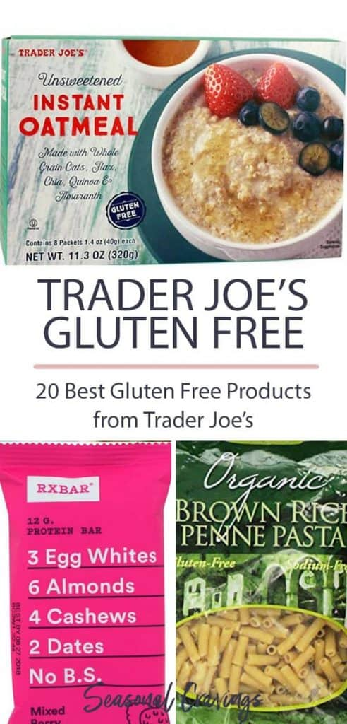 favorite gluten free foods at trader joes list