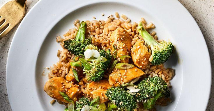 Gluten-Free Teriyaki Chicken with Broccoli
